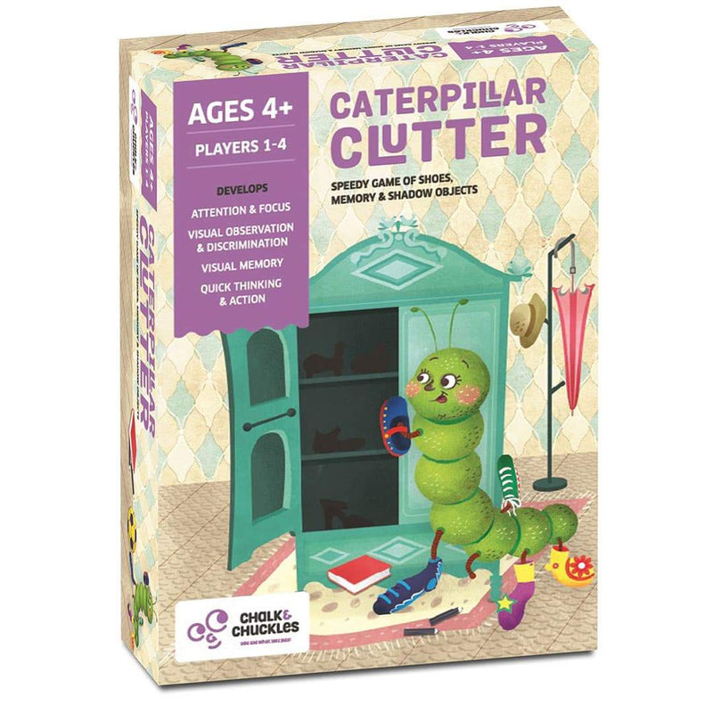 Caterpillar Clutter Box