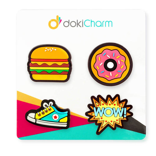 dokiCharms (4pcs pack) - dokiWatch - Adertek Lifestyle