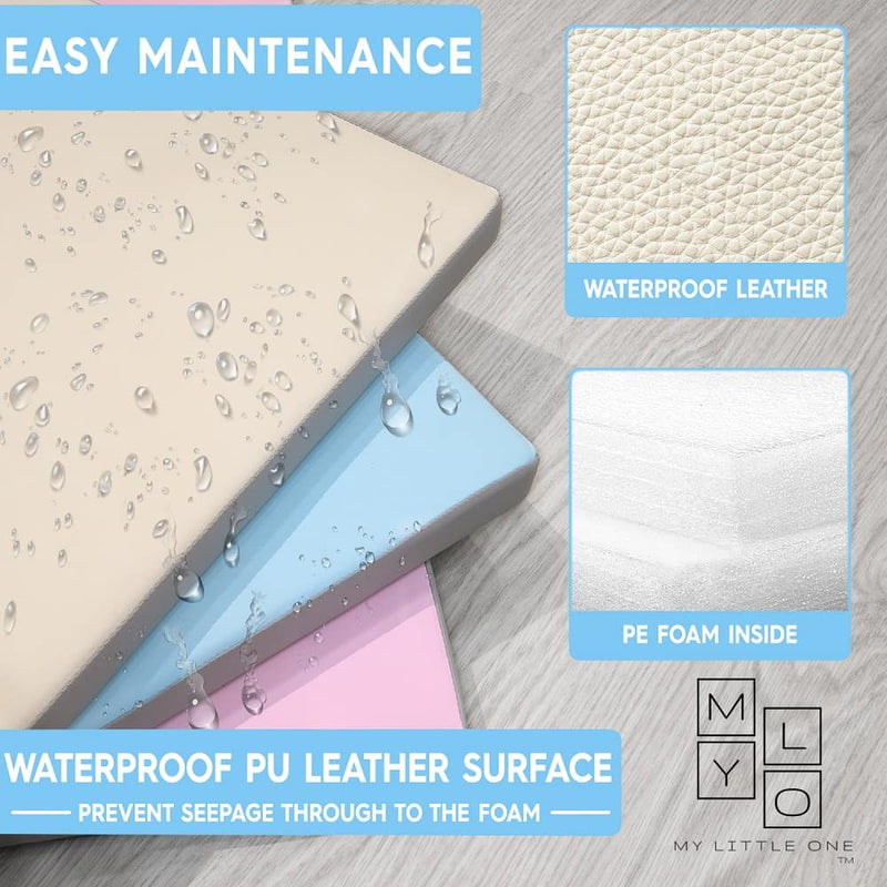 Waterproof 4cm thick PU leather mat