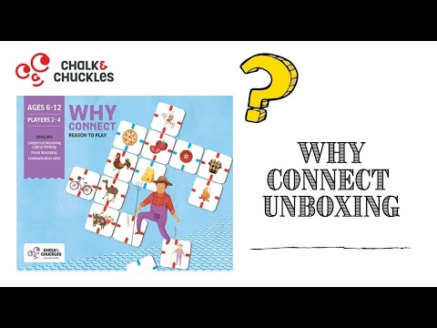 Why Connect Game: Critical Reasoning, Relationship and Categorizing Skills (6-12yo)