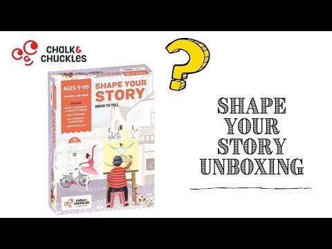Shape Your Story: Creative Drawing and Storytelling Game for All Ages (5+yo)