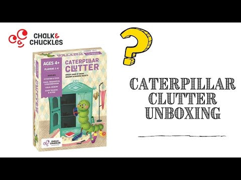 Caterpillar Clutter: Memory and Matching Game for All Ages (4+yo)