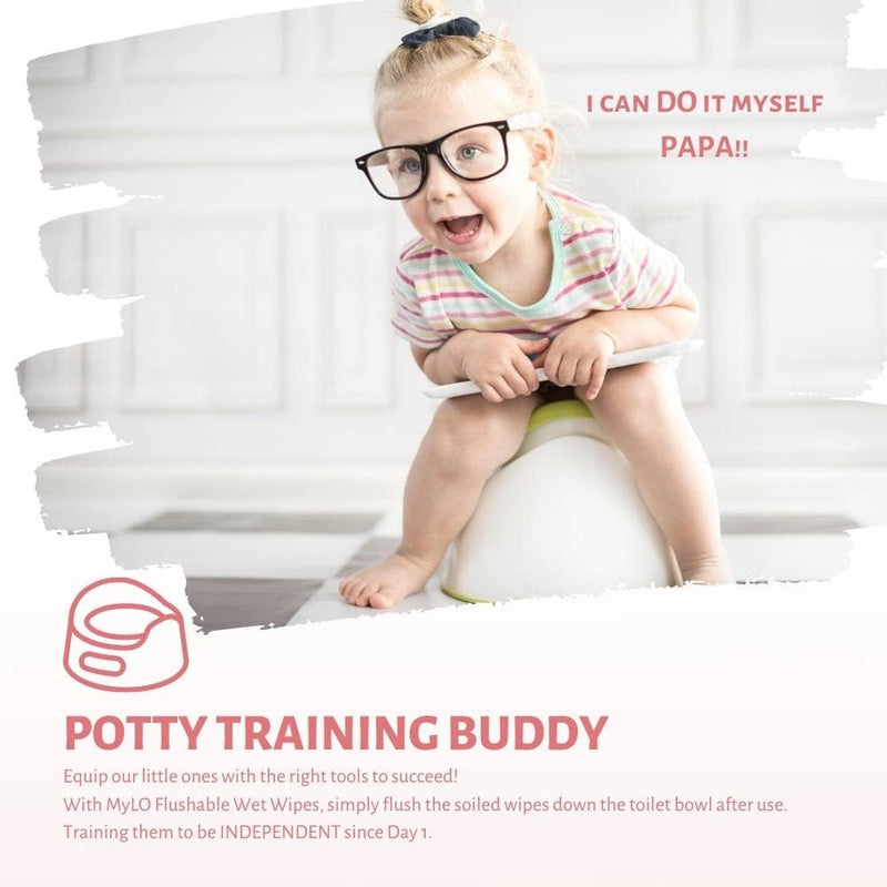Perfect start for potty training