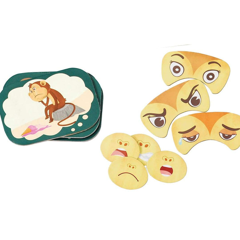 Monkey Expression Game Tokens
