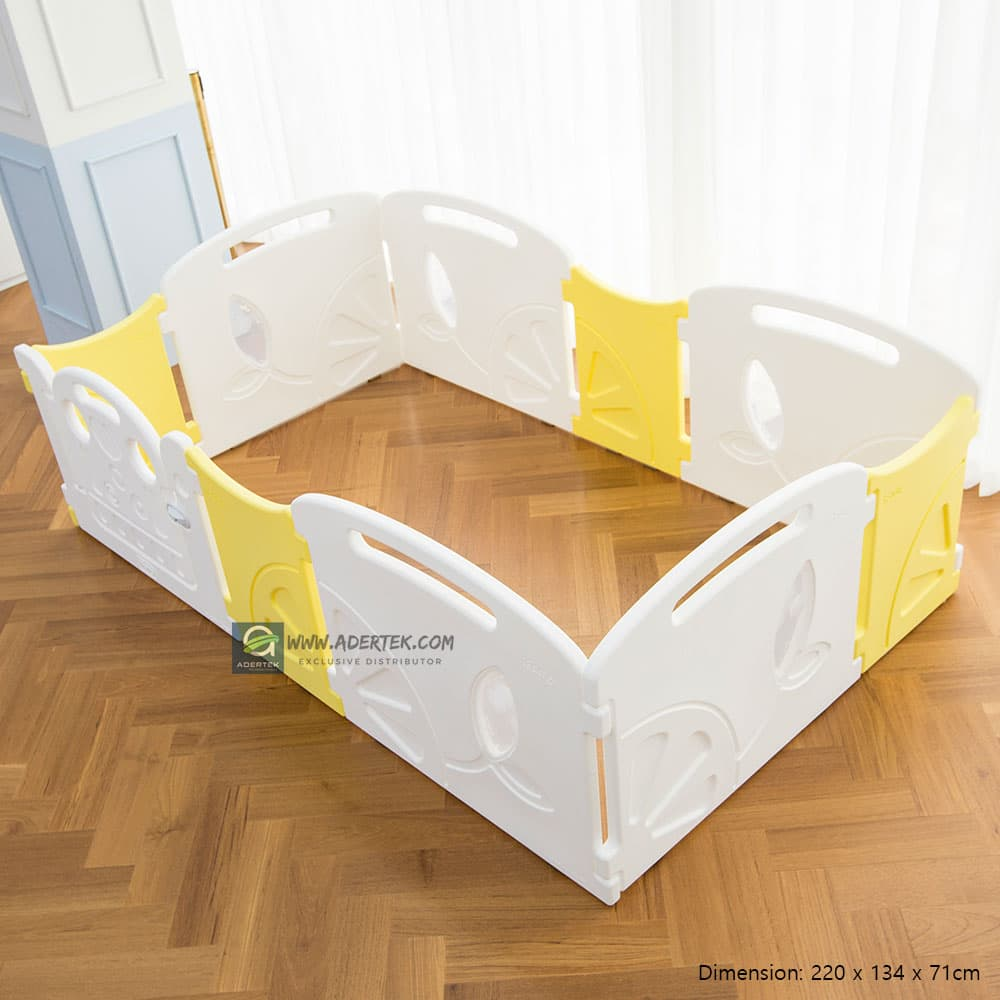 (Pre-Order) Lemon Baby Play Yard - Regular - IFAM (Made in South Korea) - Adertek Lifestyle