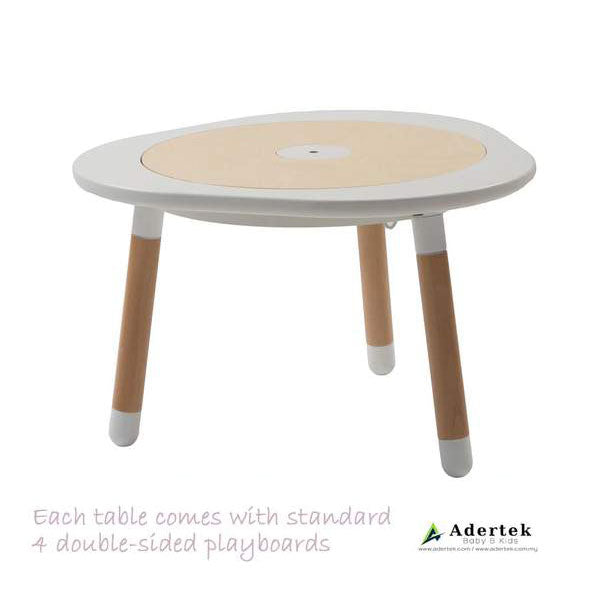 MUtable - Children Activity Play Table (1-8yo) - White