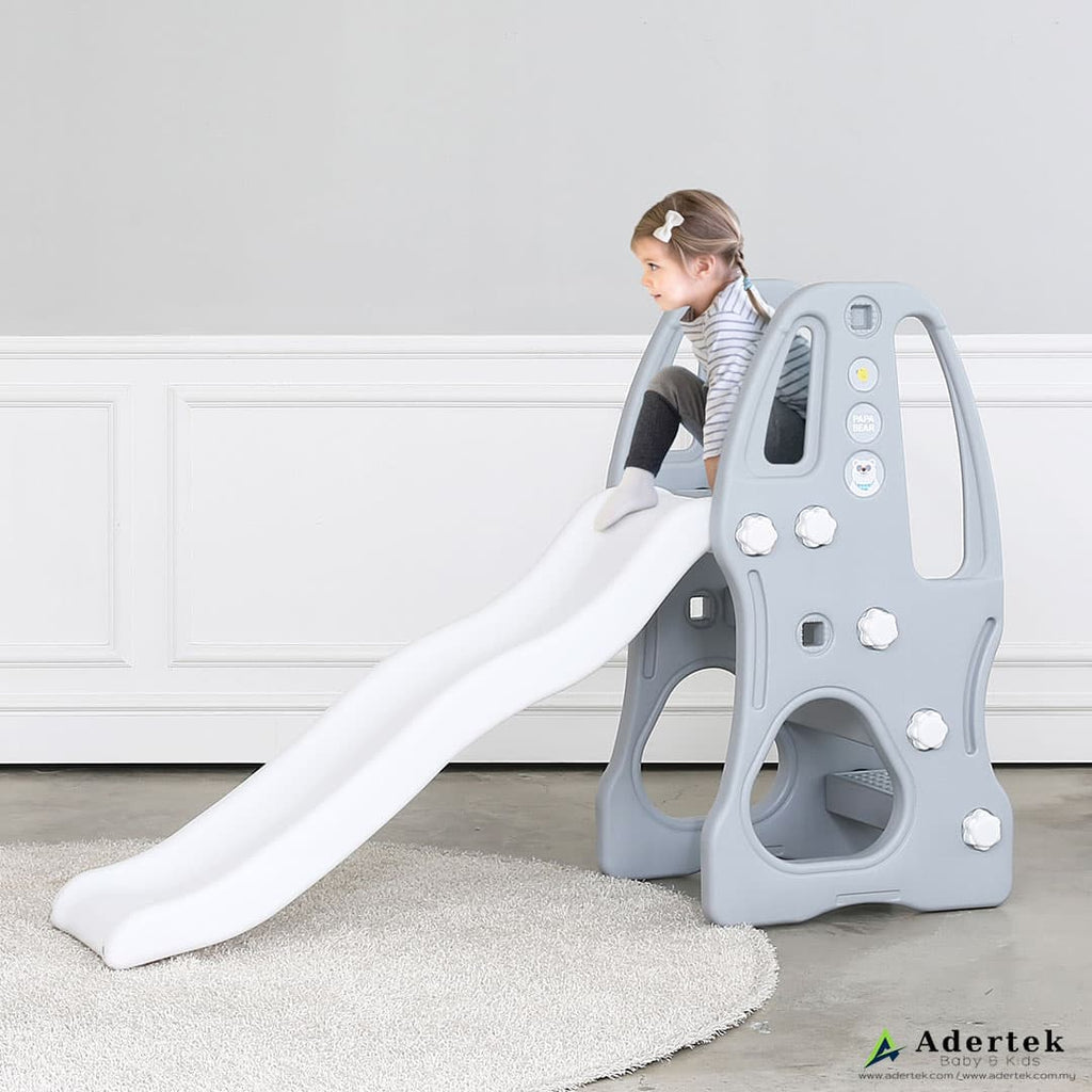 PaPa Bear Indoor Slide (2-6yo) - Modern Grey