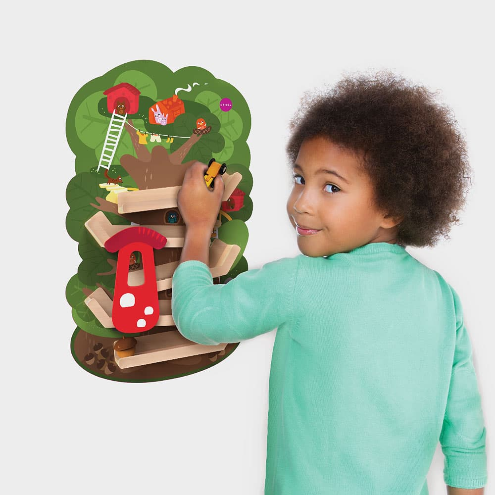 VertiPlay™ Tree Top Adventure - A Game of Constant Action excites your child senses