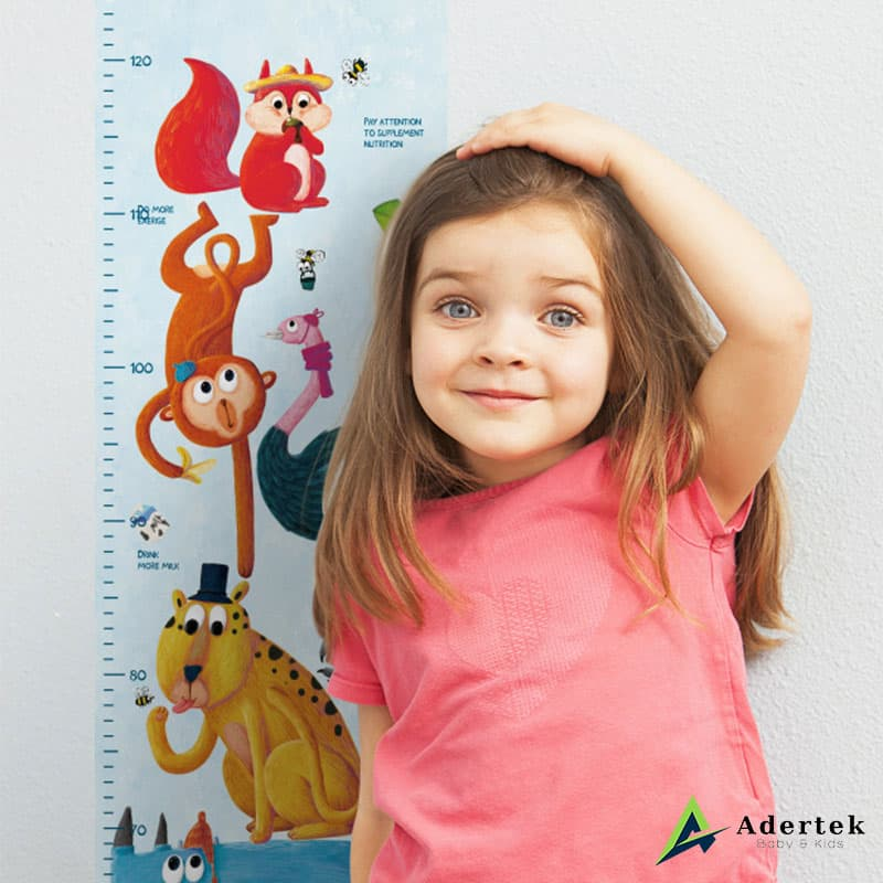 Height Chart For Kids to Records Kid's Growing Moment