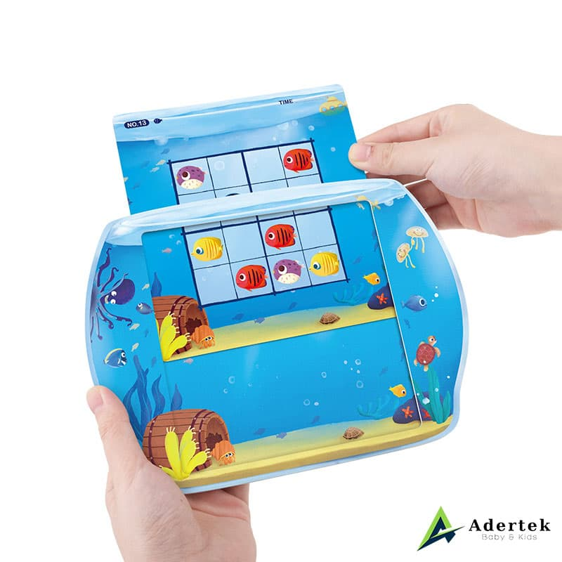 Magnetic Sudoku Game Tropical Fish Suitable for Preschoolers