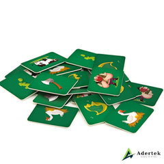Jack And The Beanstalk Character Game Card