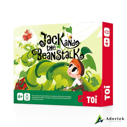 Jack and the beanstalk front view