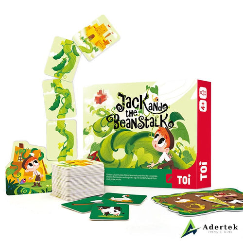 Jack and the beanstalk full box content