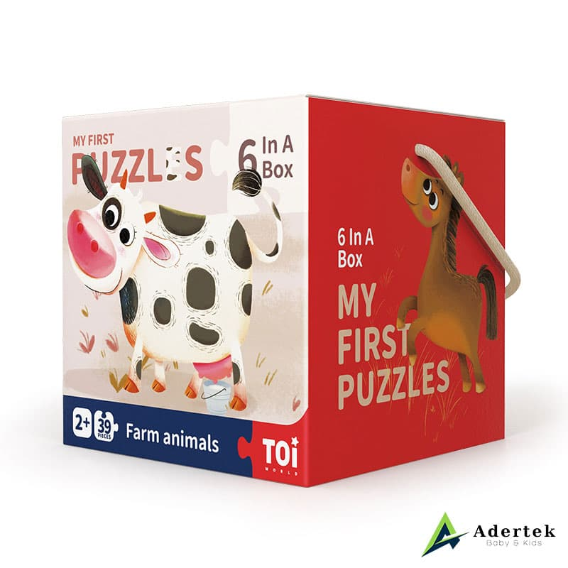 My First Puzzles Farm Animal Puzzle Game For Kids