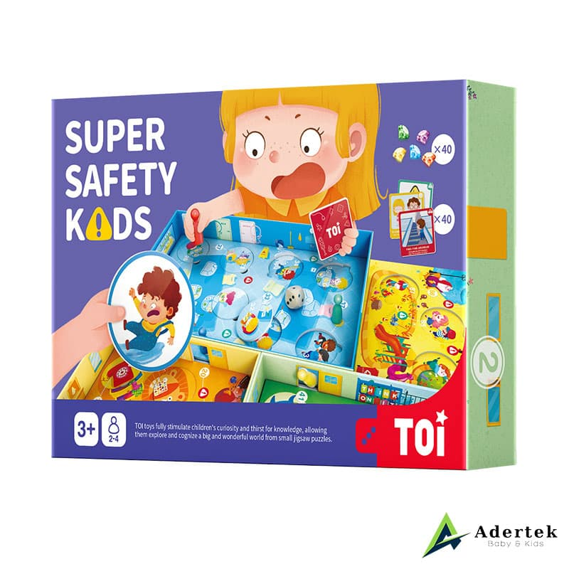 Super Safety Kids board game