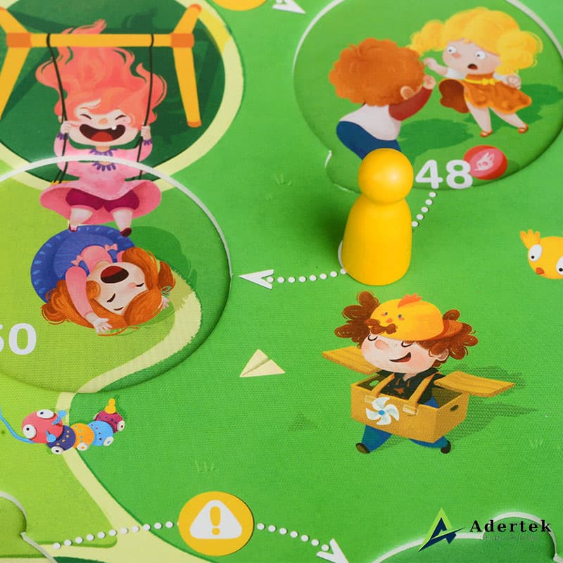 Super Safety Kids Pawns and Game Cards