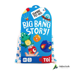 "TOI Game To Go ""Big Bag Story"" Front View"