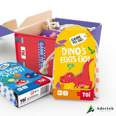 TOI Game To Go 5-in-1 Game Set, Play More, Save More!