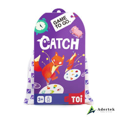 "TOI Game To Go ""Catch"" Front View"