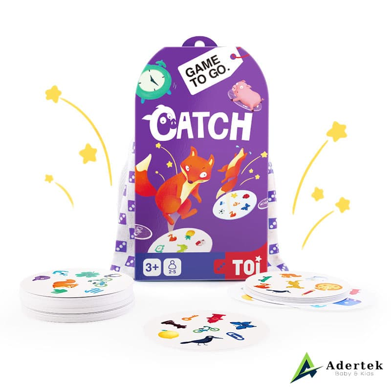 "TOI Game To Go ""Catch"" Full Box Content"