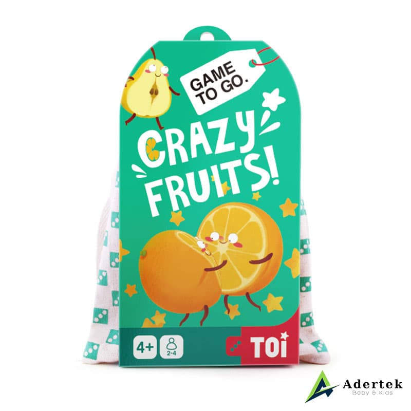 "TOI Game To Go ""Crazy Fruits"" Front View"
