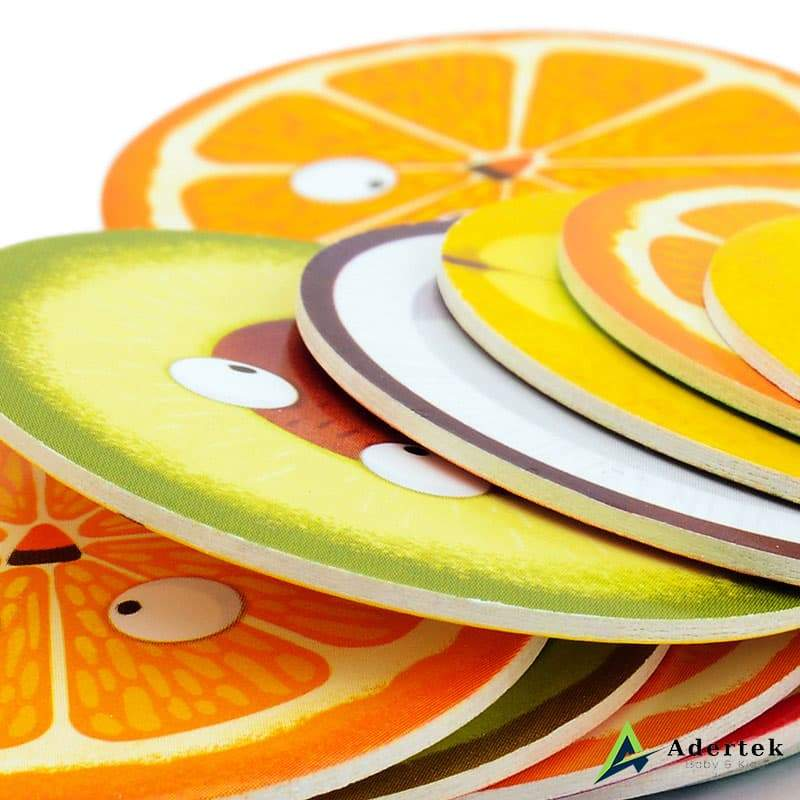 TOI Game To Go Crazy Fruits Fruit Slices Cardboard