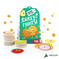 "TOI Game To Go ""Crazy Fruits"" Full Box Content"
