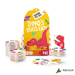 "TOI Game To Go ""Dino's Eggs Go"" Full Box Content"