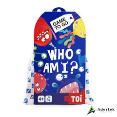 "TOI Game To Go ""Who Am I"" Front View"