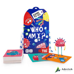 "TOI Game To Go ""Who Am I"" Full Box Content"