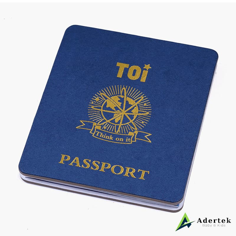 Travel Around The World TOi Passport For Kids