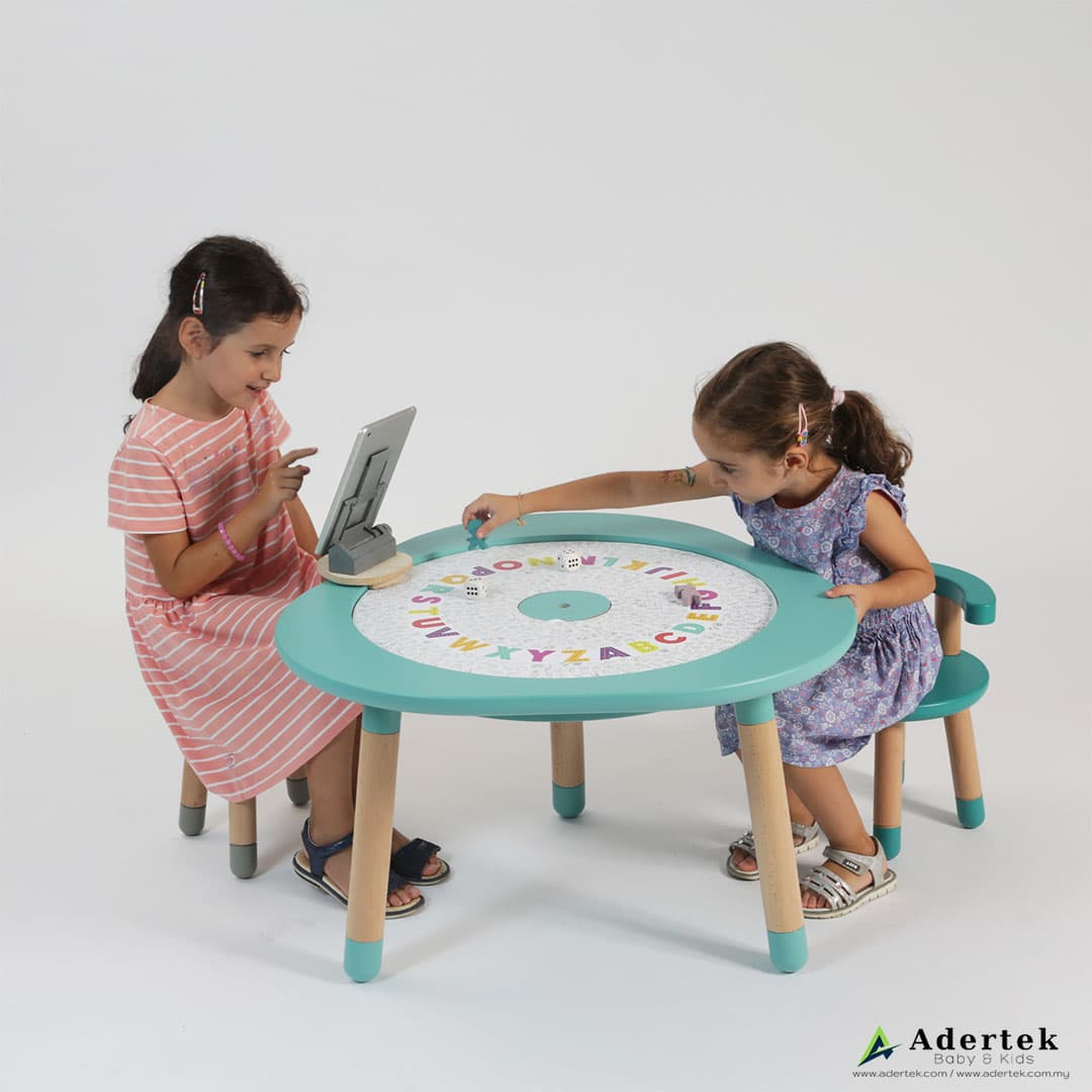 MUtable board games is suitable for kids from 1-8 years old