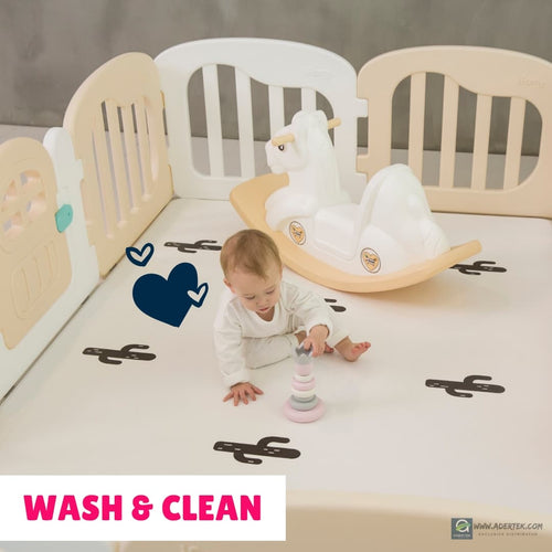 Play Yard & Play Mat basic wash & clean at $150 - FREE pickup & delivery