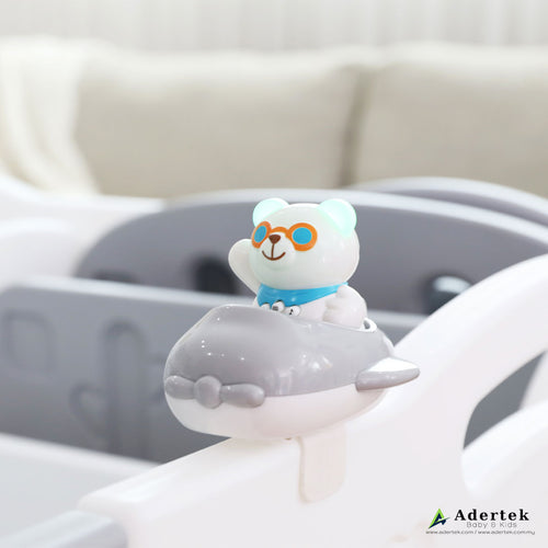 Flying PAPA Bear with Aeroplane Musical Learning Toy