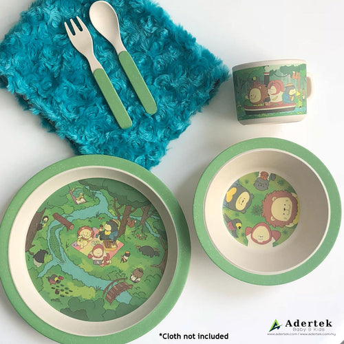 Rainforest Family Kids' Cutlery 5pcs Set