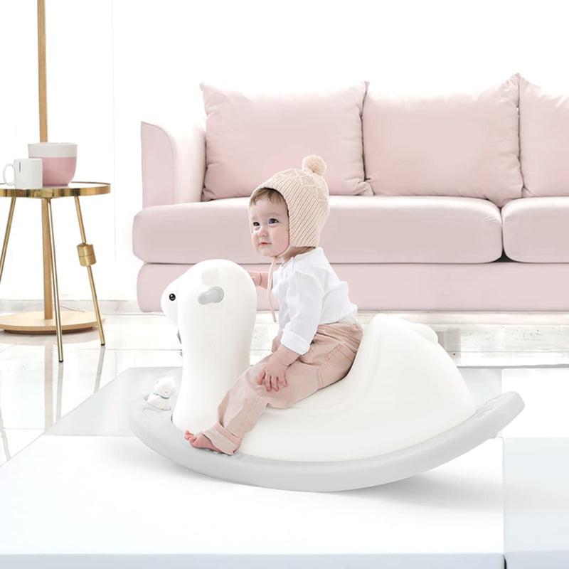 llama rocking horse for play room