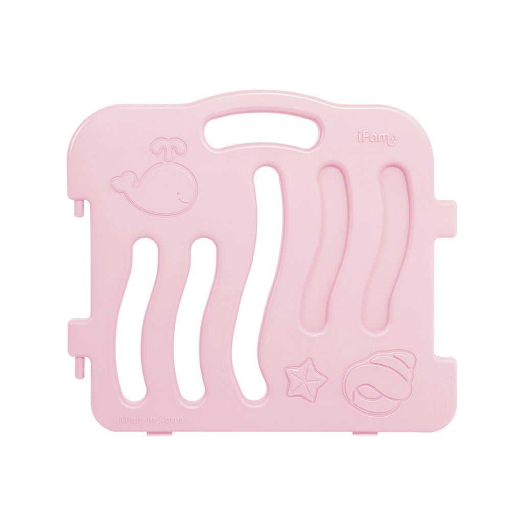 Shell Baby Play Yard Side Panel (2 pcs) - Pink