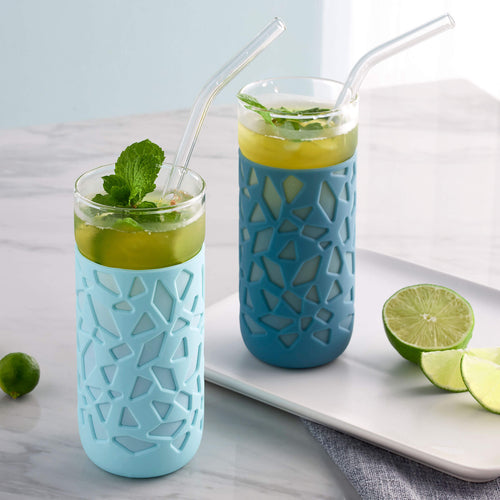 Anti-Slip Glass Cup - Creadys - Adertek Lifestyle