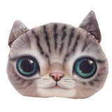 (Filling NOT Included) Cat Car Cushion Pillow Cover