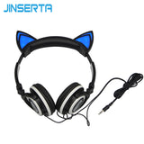 Glowing Cat Headphone