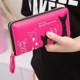 5 Cats - Cute Leather Wallet
