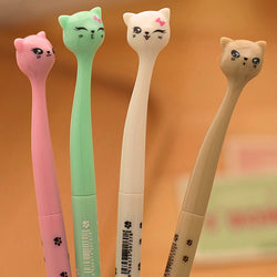 Cute Kawaii Cat Gel Pen For Kids