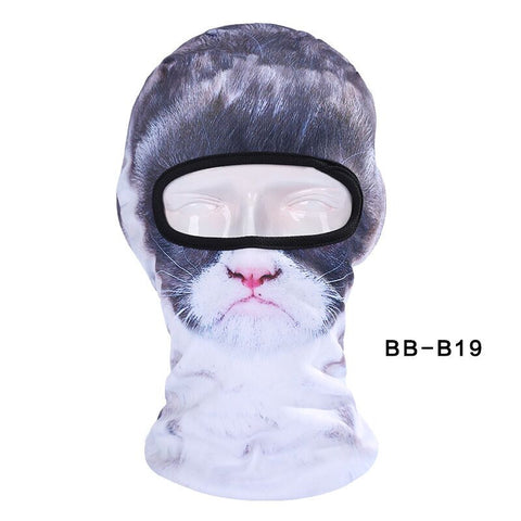 Cat Face Mask - For Cycling Fishing Outdoor Skiing Motorcycle