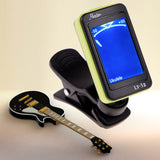 Mini Clip-on LCD Display Digital Chromatic Electronic Guitar Tuner