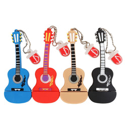 Guitar Shaped USB Flash Memory Stick