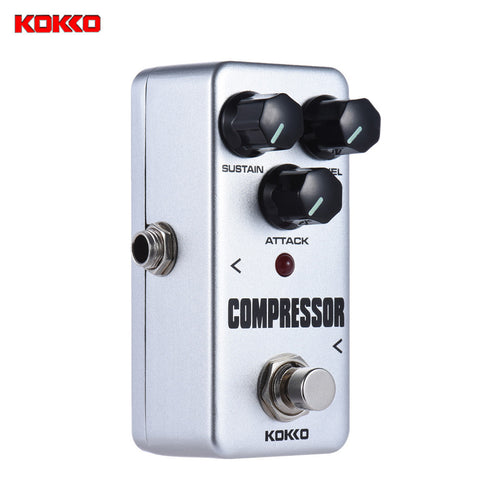 KOKKO FCP2 High Quality Portable Mini Compressor Guitar Effects Pedal