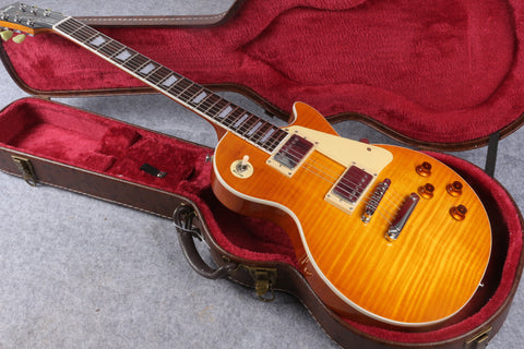 in Stock 1959 R9  honey Burst  Chinese LPaul LP Style Standard Electric Guitar with EMS  Free Shipping
