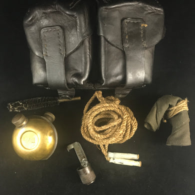 Mauser 1950's Yugoslavian M48 Belt Pouch & Cleaning Kit