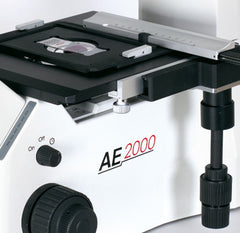 Motic AE2000 mechanical stage