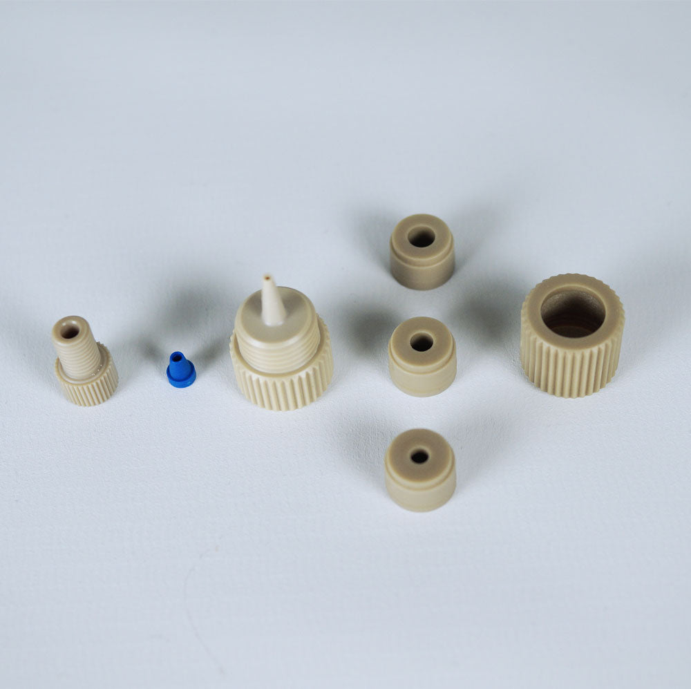 "Peristaltic Tubing Adapter for 1/16"" OD PTFE Tubing"